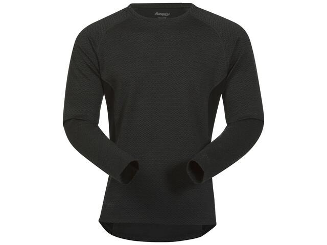 Bergans Snoull Shirt Men Solid Charcoal/Black